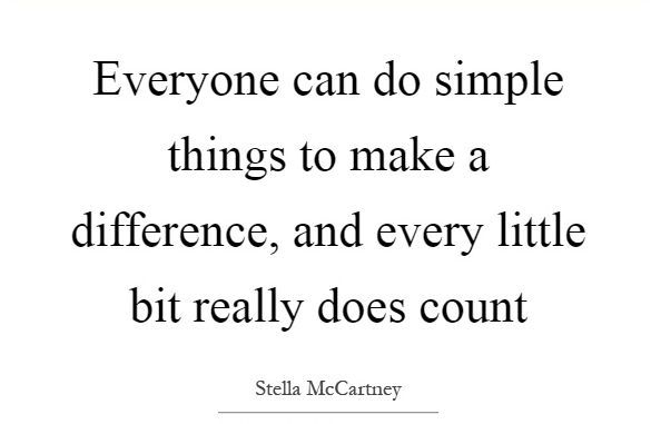 Image result for EVERY LITTLE BIT MAKES A DIFFERENCE
